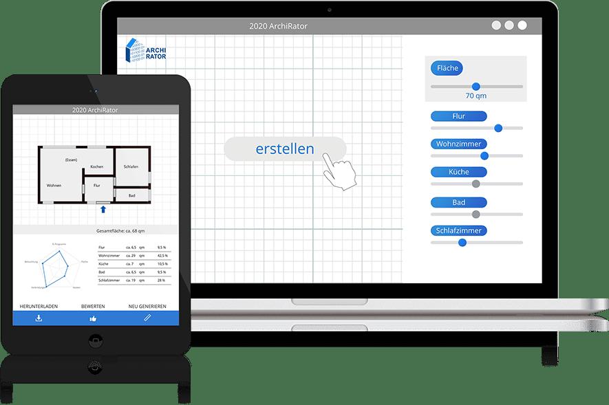 ArchiRator - Computergenerierte Architektur